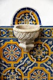 water basin and tiles, Penha Longa Hotel, Linho, Portugal