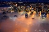 Downtown Seattle Approaching Fog,  Washington