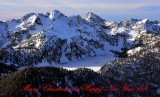 Snow Lake, Kaleetan Peak, Chair Peak, Cascade Mountains, Washington