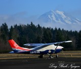 N9700Z, Civil Air Patrol, Mount Rainier, Puyallup, Washington