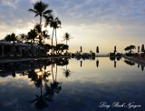 Reflection, Four Seasons Hotel, Big Island, Hawaii