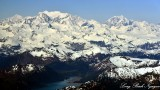 Mt La Perouse, East Crillon, Mt Bertha, Glacier Bay National Mounument and Preserve, Alaska