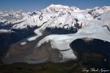 Mount Crillon, La Perouse Glacier, Middle Dome, Mount Dagelet, Glacier Bay National Park, Alaska