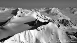 Hut Peak, Whiteout Peak, Whiteout Glacier, Chugach Mountains, Alaska