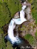 Ohanapecosh River Falls, Eastside Trail, Cascade Mountains, Washington