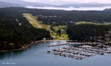 Roche Harbor Marina, Roche Harbor Airport, San Juan Island, Washington