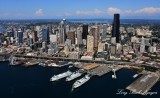 Downtown Seattle and Waterfront, Washington State Ferries, Great Wheel, Alaskan Way Viaduct, Washington