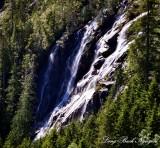Bridal Veil Falls, Lake Serene, Mount Index,Cascade Mountains, Washington