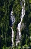 Little Derrick Lake falls,Preacher Mountain  Cascade Mountains  Washington