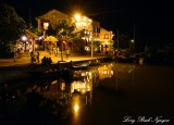 Hoi An at night, Thu Bon river, Hoi An, Vietnam