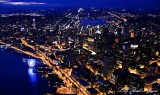 Space Needle, Seattle, Lake Union, 4th of July 2014, Washington