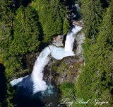 Ohanapecosh River Falls, Eastside Trail, Cascade Mountains, Washington