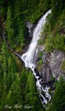 Panorama Lake Waterfalls, Malachite Peak, Washington