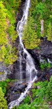 waterfalls,  South Side of Mt Index, Washington