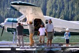 John and JJ, DHC-2 Beaver floatplane, Eagle Nook Resort, Canada