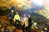 Alf,Volcano Guide, Katherine, Nancy, Inside the Volcano Tour, Iceland