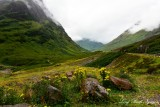Glencoe River Coe, Bidean Nam Bian, Meall Dearg, Scottish Highland, UK