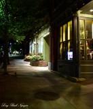 Sidewalk on College Street, Burlington, Vermont