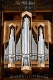 Organ in Hallgrímskirkja, Reykjavik, Iceland