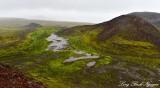 Landscape around Thrihnukagigur volcano, Iceland