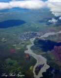 Arborg Olfusa River Iceland