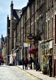Shops on Thistle Street, Edinburgh, Scotland, UK