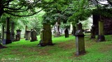 The Parish Church of St Cuthbert Cemetery Scotland UK