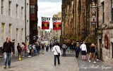 The Royal Mile Edinburgh Scotland UK