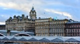 Rail Station The Balmoral North Bridge Edinburgh UK