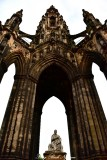 Scott Monument and Statue Edinburgh UK