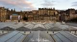 Edinburgh Rail Station The Mound UK