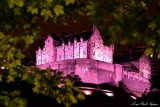 Edinburgh Castle at Night Edinburgh Scotland UK
