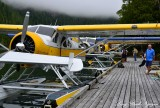 DHC-2 Beavers leaving for Nahmint Lake Vancouver Island Canada