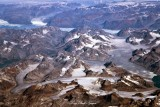 Eastern Mountain and Glacier of Greenland