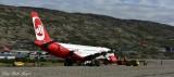 Air Berlin, Sondre Stromfjord Airport,  Kangerlussuaq, Greenland