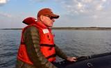 David on tour of Hudson Bay