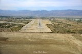 Final Approach to Runway 33 Thermal Airport Thermal California