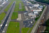 High Final to Runway 31R, Boeing Field, King County International Airport, Seattle