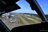 Tight base to final Boeing Field Seattle