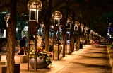 Night Time on 16th Street Mall Denver Colorado