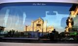 Rear Window of Basilica of Santa Croce, Piazza Santa Croce, Florence, Italy
