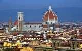 Florence Cathedral, Basilica di Santa Maria del Fiore, Basilica of Saint Mary of the Flower, Giotto Campanile, Florence, Italy