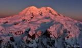 Final Sunset on New Year Eve 2014, Mount Rainier National Park, Washington