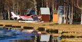 Floatplanes on Lake Hood Seaplane Base Anchorage Alaska