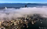 Columbia Tower, Great Wheel, Pike Place Market, Spokane Viaduct, Seattle, Washington