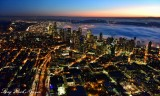 Seattle Skyline, South Lake Union, Capital Hill, Sea of Fog, West Seattle at Sunset