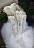Power of Snoqualmie Falls Snoqualmie Washington