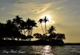Afternoon Sun, Pauoa Bay, Fairmont Orchid, Big Island, Hawaii