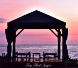 Bungalow at Sunset, Big Island, Hawaii