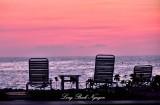 Lawn Chairs for Sunset, Big Island, Hawaii